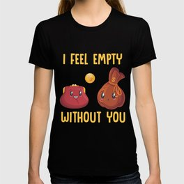 Wallet Money Relationship Couple Love Cash T-shirt
