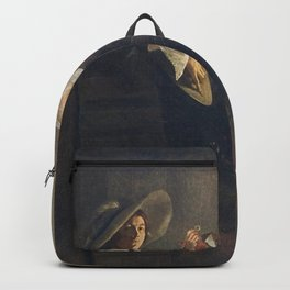 Judith Leyster - Unequal love Backpack