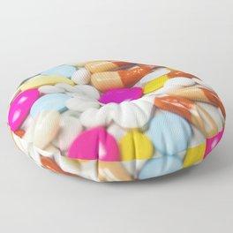 Pills (Color) Floor Pillow