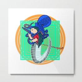 Monster sea Metal Print