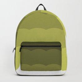 Ombre olive waves Backpack