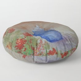Cobalt Fountain WC151209b-13 Floor Pillow