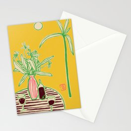 CONVERSATION BY THE SEA Stationery Cards