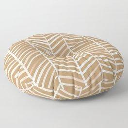 Kraft Herringbone Floor Pillow