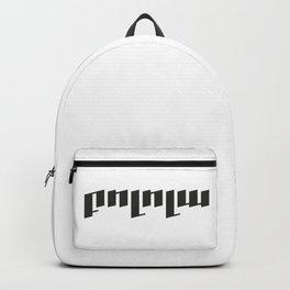 Bolola | Բոլոլա  text design #society6 #decor #buyart #artprint Backpack