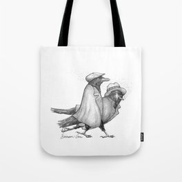 Attempted Murder Pun Tote Bag