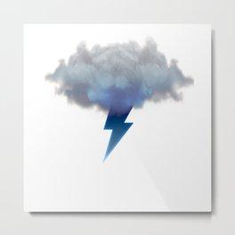 Cloud Storm Metal Print
