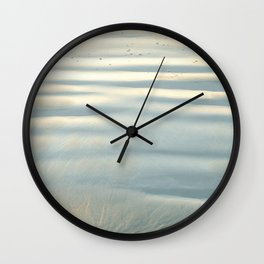 RIPPLES IN THE SAND Wall Clock
