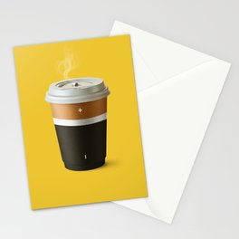 Coffee battery Stationery Cards