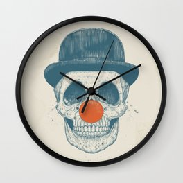 Dead clown Wall Clock