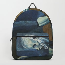 Pablo Picasso's The Old Guitarist Backpack