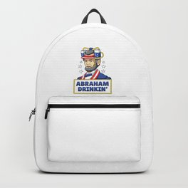 Abraham Drinkin '- July 4th Lincoln Independence Day Backpack