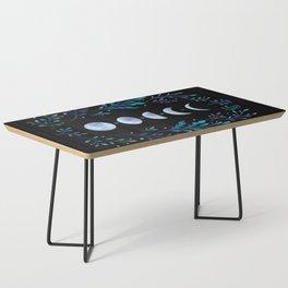 Moonlight Garden - Blue Coffee Table