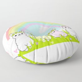 Alpaca Paradise Floor Pillow