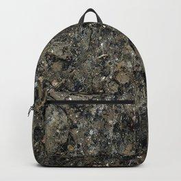 Grunge Organic Texture Print Backpack