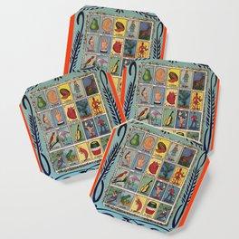 Mexican Bingo Loteria Coaster