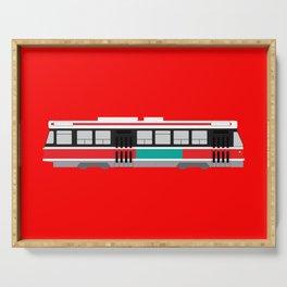 Toronto TTC Streetcar Serving Tray