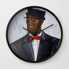 Leon Portrait Wall Clock