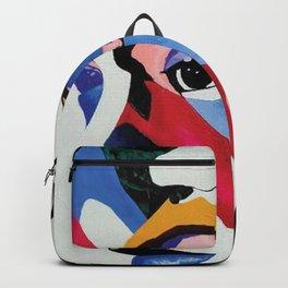 Heartache Sit Down Canvas Print Backpack