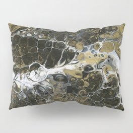 Team Splash, Black and Gold Pillow Sham
