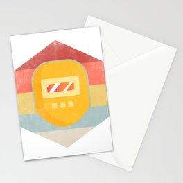 Retro Welding Mask Welder's Gift  Stationery Cards