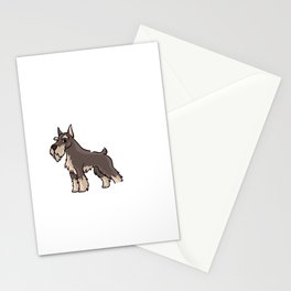 Schnauzer Dog Gift Puppies Owner Lover Stationery Cards