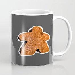 Giant Orange Meeple Coffee Mug