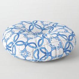 Travel to Lisbon Floor Pillow
