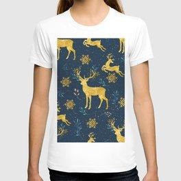 Golden Reindeer T-shirt