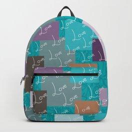 Sea Green | Love Backpack