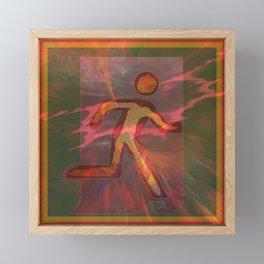 Exit Framed Mini Art Print