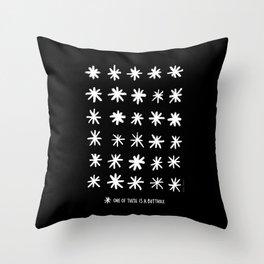 Asstrisks Throw Pillow