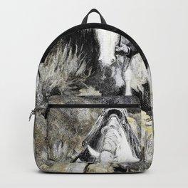 Follerin' the Tracks - William Herbert Dunton Backpack