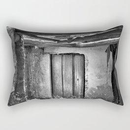 the forgotten secrets of the mountain house in ruins Rectangular Pillow