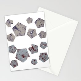Pentagons of May 14 Stationery Cards