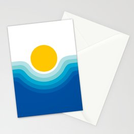 Ocean Canyon Stationery Cards
