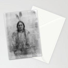 Sitting Bull Overlay Stationery Cards