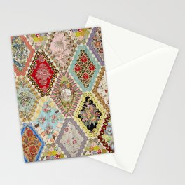 13-Panel Hexagon Quilt Stationery Cards