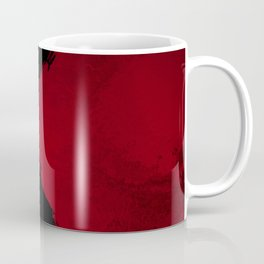 BLOOD RED RIBBON Coffee Mug