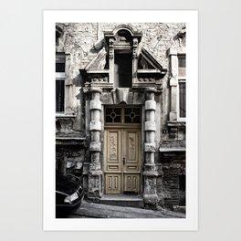 The Door / Belgrade Art Print