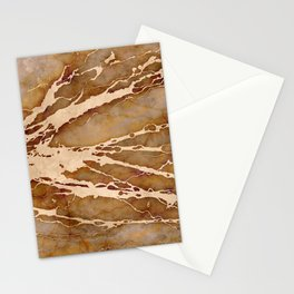 MARBLED SATURDAY Stationery Cards