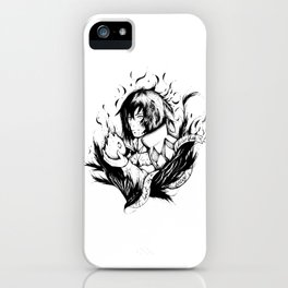 A heart is a heavy burden iPhone Case