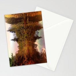 Mirror Pond, Perfect Stillness At Sunset Stationery Cards