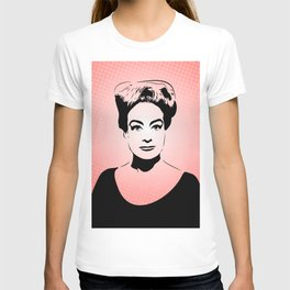 Joan Crawford | Hollywood Royalty | Pop Art T-shirt