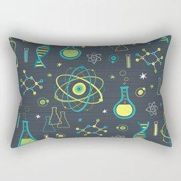 Midcentury Modern Science Rectangular Pillow