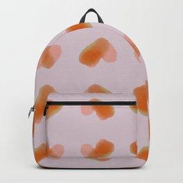 Lots of Hearts - Orange Backpack