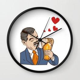 True Love - Funny Beer Drinking Gift Wall Clock