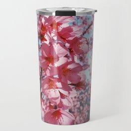 Sakura in the sun Travel Mug