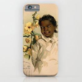 African Girl Maud Humphrey iPhone Case