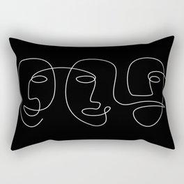 Night In Rio Rectangular Pillow